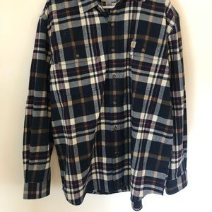 Carhartt Flannel Button Up